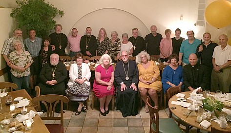 OCPM Board of Directors and Executive Staff are hosted by OCPM Minnesota for a group dinner of fellowship and common discussion on Orthodox Prison Ministry.